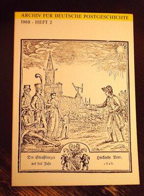 """""""Archiv für Deutsche Postgeschichte"""" Ausgabe 1968 Heft 2"""