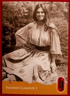 HAMMER HORROR GLAMOUR - Card C3-S2 - Caroline Munro - Strictly Ink 2010