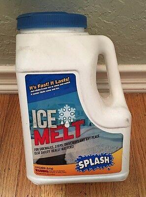 (Splash Ice Melt, Snow & Ice Melter, 12 Lb Jug)