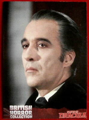 CHRISTOPHER LEE - BRITISH HORROR COLLECTION - Promo Card - B1 - Unstoppable 2016