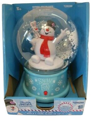 Gemmy Corp Frosty The Snowman Musical Snowglobe No Water 2019 # 1295289