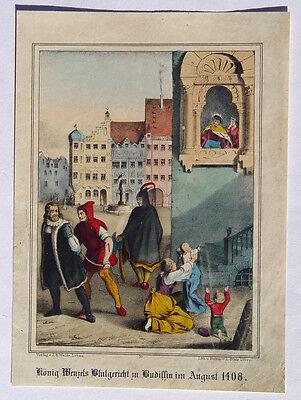 Bautzen Aufstand Handwerker König Wenzel Böhmen Henker Gericht Hinrichtung