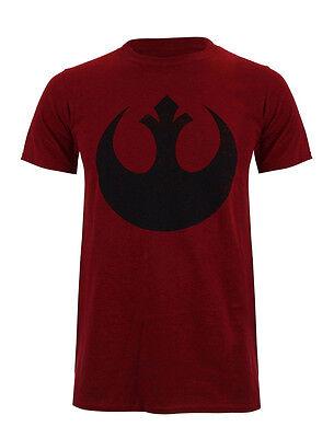 STAR WARS  T-Shirt - Rebel Logo  - dunkel-rot - XL - NEU