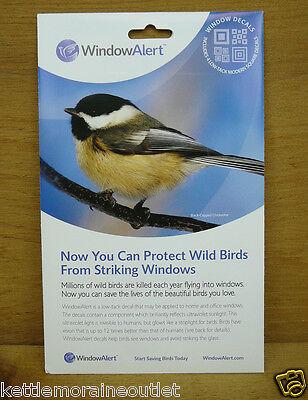 Window Alert Bird - Window Alert 4 Modern Square Decals Protect Wild Birds Prevent Window Strikes