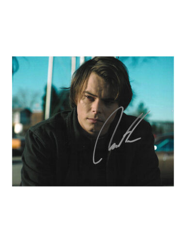 "10x8"" Stranger Things Print Signed by Charlie Heaton 100% Authentic + COA"