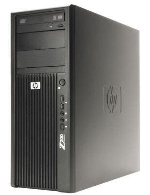 HP Z200 WORKSTATION Bureau Pc Intel Core i3-540 8GB RAM 128gb ssd windows 10
