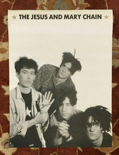 THE JESUS AND MARY CHAIN  Automatic  rare original promotional poster