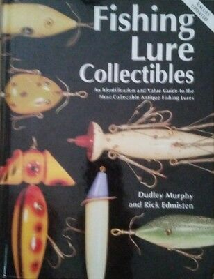 ANTIQUE FISHING LURE COLLECTIBLES COLLECTOR'S GUIDE 332 PAGES ALL COLOR PICS