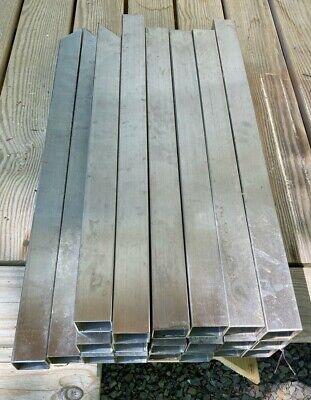 20 Square Tubes Satin Finish Stainless Steel 316 16 Marine Grade 2 X 2 X 2 Ft