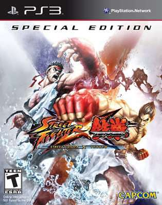 Capcom Street Fighter X Tekken: Special Edition Ps3 Plays...