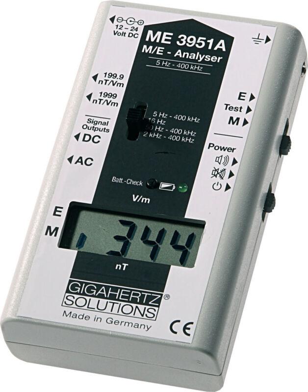 Gigahertz Solutions ME3951A EMF Meter Gauss Meter - TOP OF THE LINE!