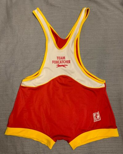 Foxcatcher Wrestling SingletMovie Stock Adult XL- Red Rare