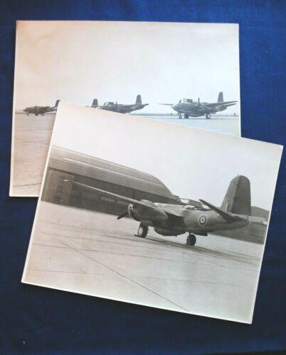 (2) 8 x 10 Photos of British B-26 Marauders