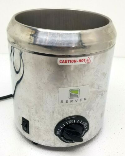 Server Products 82060 Hot Fudge  Caramel Dispenser w Thermostat NO INSERT /PUMP