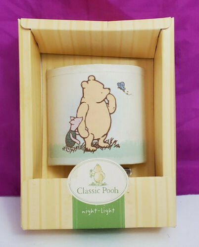 Disney Classic Pooh Winnie Night Light Nursery NEW Target Bear & His Things