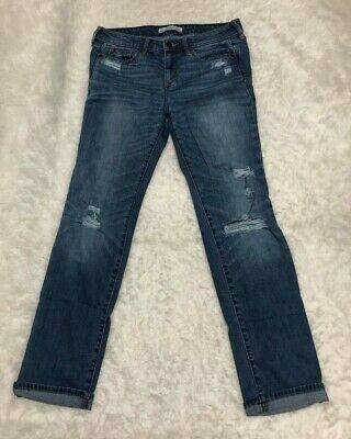 ABERCROMBIE & FITCH DISTRESSED JEANS WOMEN'S CLOTHES SIZE 4S W-27 L-31