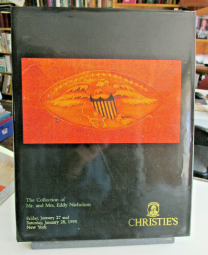 The Collection Of Eddy Nicholson 1995 CHRISTIE