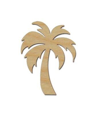 Palm Tree Shape Unfinished Wood Craft Cut Outs Tropical Theme Variety Of Sizes](Palm Tree Cut Outs)