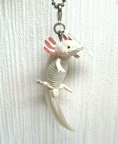 Kitan Club Nature Techni Color Ikimon AXOLOTL salamander keychain figure
