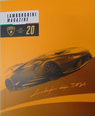 LAMBORGHINI MAGAZINE ISSUE #20 1/2017