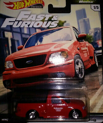 2020 Hot Wheels Fast And Furious Ford F-150 SVT Lightning~Motor City Muscle