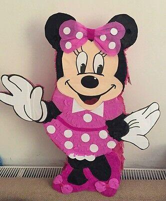 Minnie Mouse pinata - Minnie Mouse Pinatas