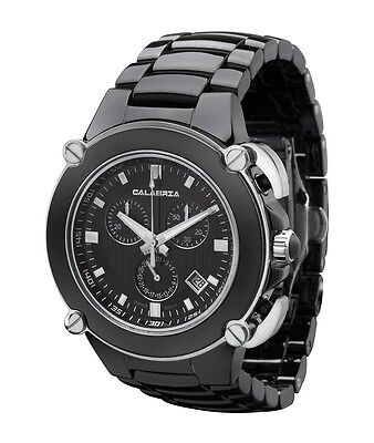 CALABRIA - Sottomarino Collection Ceramic Chronograph Men's Watch