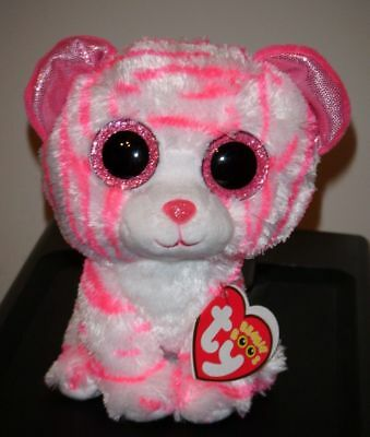 "Ty ASIA the Tiger (European Exclusive) Beanie Boos 6"" MWMT NEW ~ RARE"