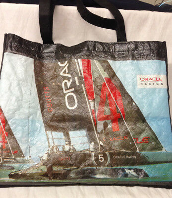 Oracle Yacht Racing Reusable Wipro Tote Bag 13 1 2  Russell Coutts