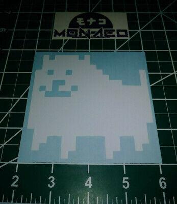 "Wall.. 6/"" x 7/"" Vinyl Decal Sticker Car Temmie Undertale Window"