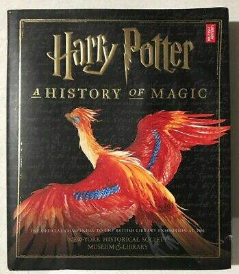 Harry Potter : A History of Magic - (Hardcover) 📖