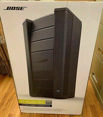 Bose F1 Model 812 Powered Flexible Array Loudspeaker Open box