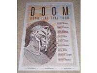 """DANGERDOOM BORDERLESS MOSAIC TILE WALL POSTER 35/"""" x 25/"""" HIP HOP DANGER AND DOOM"""