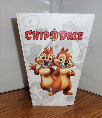 Chip And Dale Popcorn Box. Disney Cartoons......free Shipping