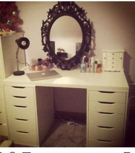 IKEA makeup table/vanity