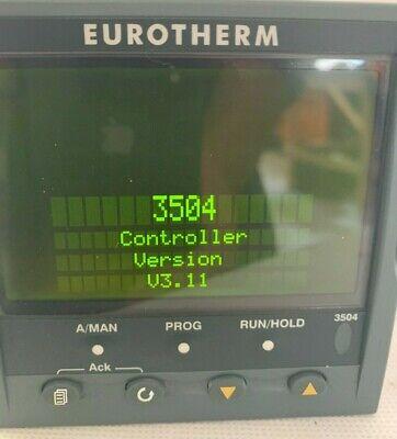 Eurotherm 3504ccvh Programmer Temperature Controller V 3.11