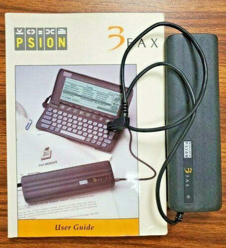 Psion 3FAX with User Guide