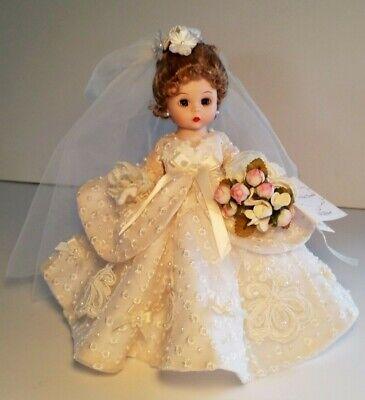 RARE~  Madame Alexander ~ Wendys Fabulous Fifties Trunk~ Bride Doll ~  #37925