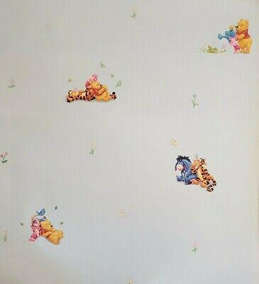 EUR 1,87/qm / Tapete Winnie Pooh Decofun 1164.5 Kinderzimmer Blau Pooh Bär