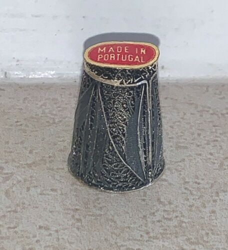 Vintage Sterling Silver FILIGREE Thimble, made in Portugal