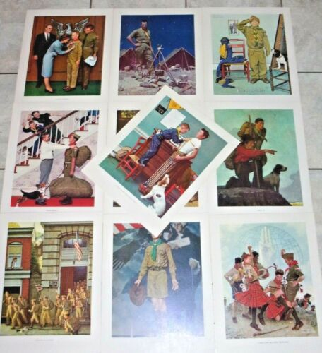 Scouting Through the Eyes of Norman Rockwell - Series IV - 10 prints
