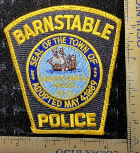 Barnstable Massachusetts Mass May 4,1889Police Department Officer Patch