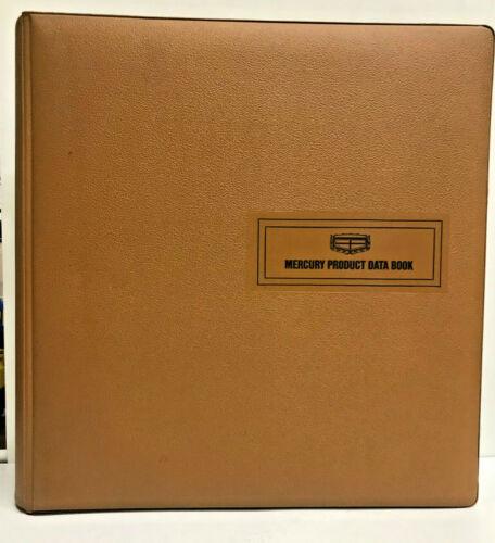 1972 Mercury Dealer Album