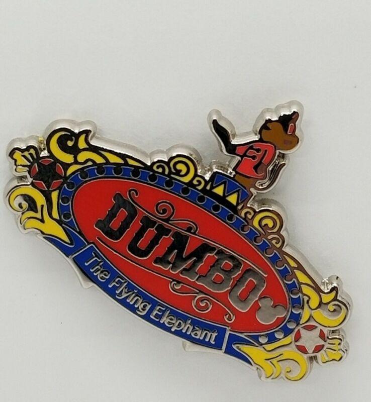 Disney PIN WDW 2019 Hidden Mickey Attraction SIGNS - DUMBO #137326 TRADE