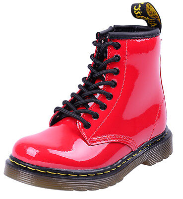 Dr. Martens BROOKLEE  Docs CORE KIDS Boots Stiefel - Red Rockabilly ()