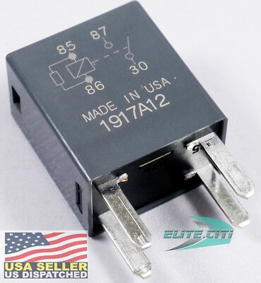 (BRAND NEW OEM GM 4-Pin Relay 13500114 High Power 4 Terminal Multi-Use Relay 8385)