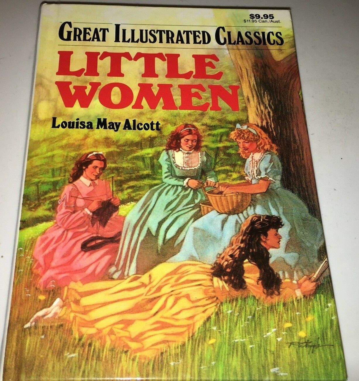 Great Illustrated Classics Little Women Vol. 4 1989, Hardcover 9L - $3.67
