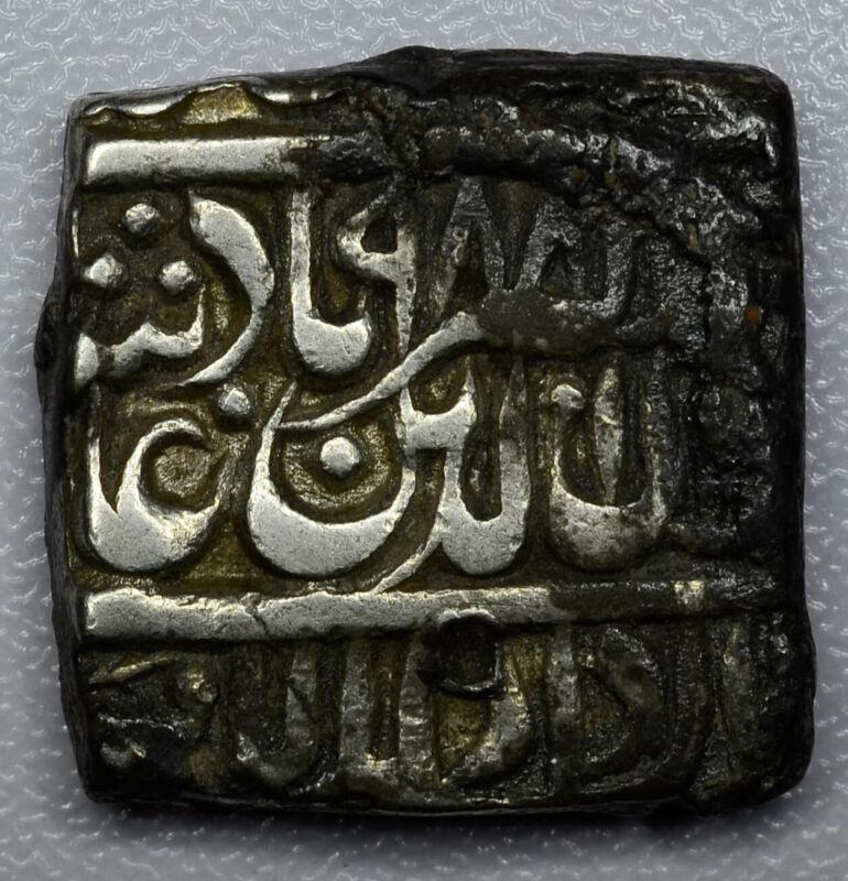 India-Mughal Empire 1 Rupee AH988 silver 1R Muhammad Akbar