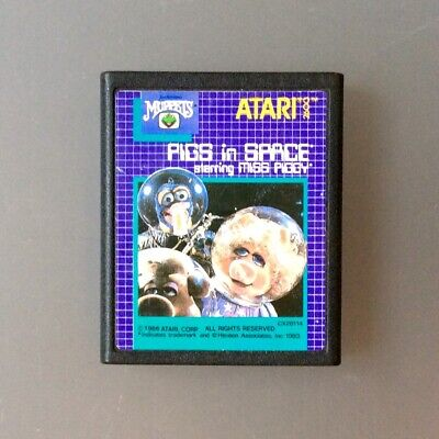 PIGS IN SPACE - Game & manual - Atari 2600 VCS - Excellent condition Retro games