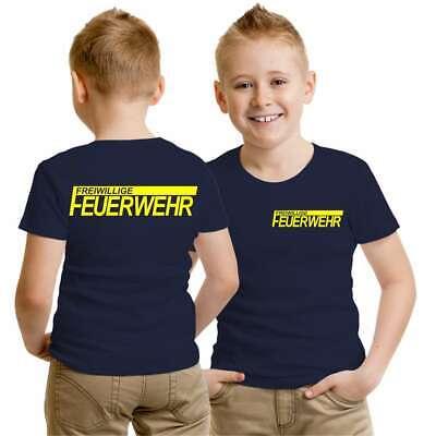 reiwillige Feuerwehr NEONGELB Verein ort geschenk beruf  (Beruf Kinder)